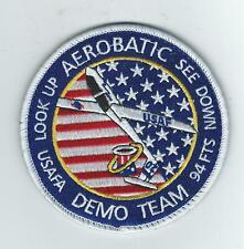 USAFA 94th FTS 2020 AEROBATIC DEMO TEAM patch