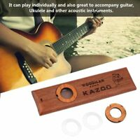 Wood Lightweight Instruments Kazoo Mouth Flute Wood Harmonica 2 x Membranes