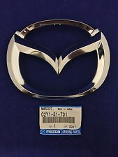 New Genuine OEM Mazda 2 3 5 6 MazdaSpeed6 Front Grille Mazda Emblem C235-51-731