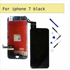 LCD Touch Screen Digitier Display Glass Replacement for Black iPhone 7G 4.7""