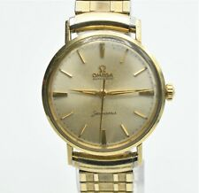 Vintage Omega Seamaster Automatic Gold Filled Swiss Made Mens Watch