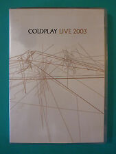 Coldplay Live 2003 (DVD*Yellow*A Rush of Blood to the Head)  FAST SHIPPING
