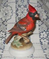 Vintage Beautiful Lefton Bone China Cardinal Figurine KW1284