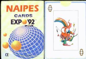 Baraja naipes Expo 92 sevilla. Nueva precintada.