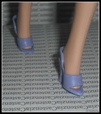 SHOES  BARBIE MATTEL RENOIR REFLECTIONS DOLL  BLUE PEEP TOE SLING BACK ACCESSORY