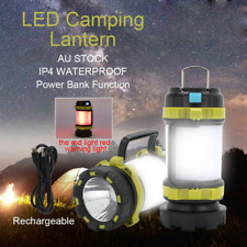 Rechargeable LED Camping Lantern Outdoor Spotlight Torch Tent Light Searchlight