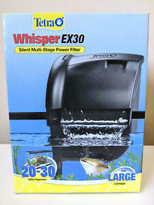 NEW! Tetra Whisper EX30 Silent Multi-Stage Filter (for 20 - 30 gallon aquariums)