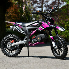 NEW XTM 50CC PRO-RIDE Petrol Dirt Bike Childs Mini Motorbike Motocross - IN PINK