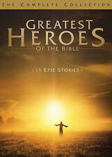 #7 GREATEST HEROES OF BIBLE EPIC STORIES COLLECTION New DVD Set FREE SHIPPING