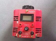 Autotransformateur VARIAC 500VA  tension variable 0-250 VAC  2 Amp 230V NEUF