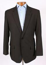 Modern Mens 42R Black Pinstripe 2 Btn Blazer Sport Coat Jacket Side Vents  624