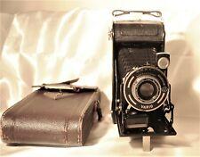 Vintage AGC Vario Folding Camera Case Germany Anastigmat Gewirona 1:6,3 f 10.5cm