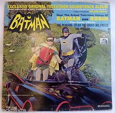 1966 LP * Nelson Riddle BATMAN * Exclusive Original Television Soundtrack Album