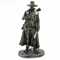 TIN HISTORY TIN FIGURES WILD WEST SHERIFF PAT GARRETT WITH GUN 65MM F3