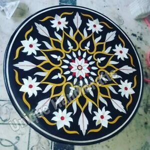 Marble Dining Coffee Table Top Multi Stone Marquetry Floralfine Design Home Deco