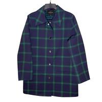 Lafayette 148 Womens Rain Jacket 97% Cotton Size Small Fall Winter Cozy