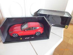 HotWheels ELITE Ferrari FF Rot 1:18 OVP (N9341)