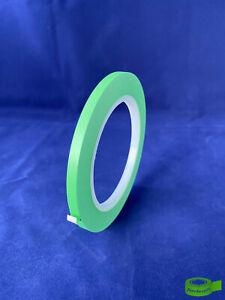 Zierlinienband Konturenband PVC Klebeband Fineline 33m x 6mm grün (0,10€/m)