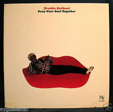 FREDDIE HUBBARD-KEEP YOUR SOUL TOGETHER-A Great Jazz Album-CTI #6036 stereo