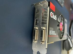 Club 3d Radeon HD7870 - LIGHTLY USED GPU but in fully working condition