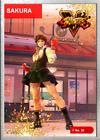 Sakura (power 1) Weld - 2021 Street Fighter NFT Series 1 - MINT# 1,053 RARE