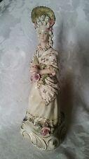 "Vintage RARE Cordey Lady Figurine Figurine 11"" #5087 OUTSTANDING CONDITION"