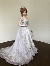 FRANKLIN MINT PEARL THE GIBSON DEBUTANTE  PORCELAIN DOLL LTD ED # 338 NEW in BOX
