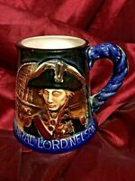 Admiral Lord Nelson - Great Yarmouth Potteries Hand Crafted Tankard