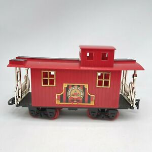 Blue Hat Christmas North Pole Junction Train Caboose