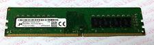 QTY1 Micron 8GB x1 DDR4-2133 PC4 MTA16ATF1G64AZ-2G1B1 Desktop PC 288pin RAM