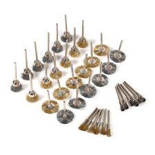 Wire Wheel Brushes Set Tasse /& sertie 24pc Assortiment de puissance Forets pour métal