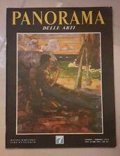 PANORAMA DELLE ARTI RIVISTA BIMESTRALE GENNAIO - FEBBRAIO 1963 ARTE PITTURA