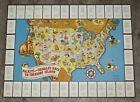 1939 WALT DISNEY STANDARD OIL MICKEY & DONALD TREASURE ISLAND TRADING CARDS MAP