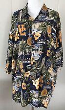 Reyn Spooner UC Berkeley Cal Bears University California Hawaiian Shirt XL NWOT