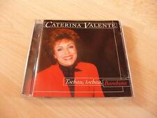 CD Caterina Valente - Tschau Tschau Bambina - 2000 - 16 Songs