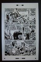 Original Production Art X-MEN #51 page 13, JIM STERANKO art