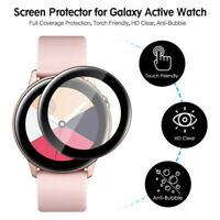 For Samsung Galaxy Watch Active 2 Smart Watch Full-Cover Screen Protector Film