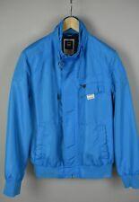 G-star Sandhurst Bomber Herren XL Ellbogenflicken Polyester Hülle Blaue Jacke