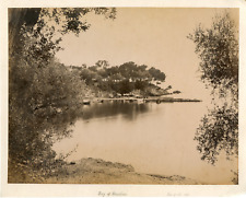 France, Beaulieu  Vintage albumen print.  Tirage albuminé  21x27  Circa 18