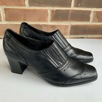 Life Stride chunky heel square toe shoes Women's Size US 7