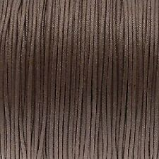 Fil Coton 0,5mm marron kaki (x 2m)