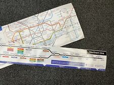 More details for london underground northern line diagram tube carriage map 2010 - uk