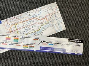 London Underground Northern Line Diagram Tube Carriage Map 2010 - UK