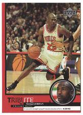 Michael Jordan 1999 Upper Deck Tribute Double Double Effort Basketball Card