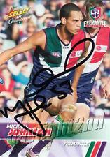 ✺Signed✺ 2008 FREMANTLE DOCKERS AFL Card MICHAEL JOHNSON
