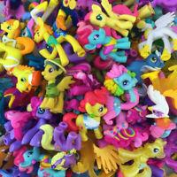 "Random Lot Unicorn PONY Friendship is magic 2"" Figure cute MLP toy Kids Gift"