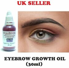 Eyebrow Rapid Growth Oil Thicker Longer Brows Regrow For Thin Brow Natural 30ml
