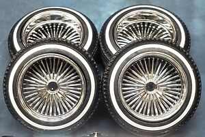 Lowrider 1/25 Model Car Wire Wheels