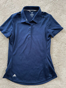 Adidas Golf Women's Blue Size XS shirt Polo Collared Lightweight Polyester