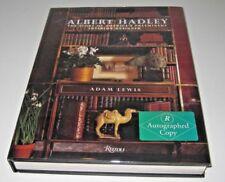 *SIGNED x2* Albert Hadley :America's Preeminent Interior Designer by Adam Lewis